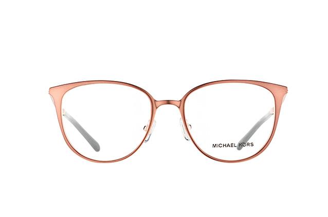 MICHAEL KORS Michael Kors Damen Brille »LIL MK3017«, braun, 1188 - braun