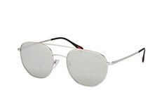 Prada Linea Rossa PS 56Ss 1Ap2B0, Aviator Sonnenbrillen, Silber