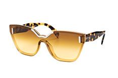 Prada PR 16Ts Vir-1G0, Singlelens Sonnenbrillen, Beige