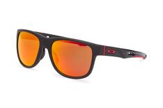 Oakley Crossrange R OO 9359 04, Square Sonnenbrillen, Schwarz
