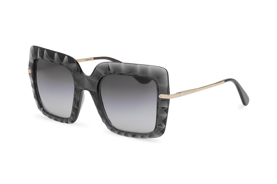 DOLCE & GABBANA Dolce & Gabbana Damen Sonnenbrille » DG2191«, schwarz, 01/8G - schwarz/grau
