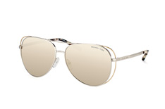 Michael Kors Lai MK 1024 11765A, Aviator Sonnenbrillen, Silber