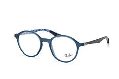 Ray-Ban RX 8904 5262, Round Brillen, Blau