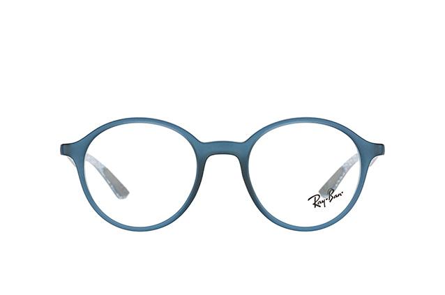 RAY BAN RAY-BAN Herren Brille » RX8904«, blau, 5262 - blau