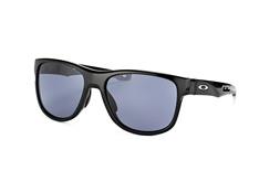 Oakley Crossrange R OO 9359 01, Square Sonnenbrillen, Schwarz