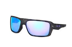 Oakley Double Edge OO 9380 04, Sporty Sonnenbrillen, Schwarz
