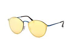 Ray-Ban Blaze RB 3574N 90387J, Round Sonnenbrillen, Blau