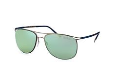 Silhouette 8689 60-6240, Aviator Sonnenbrillen, Dunkelgrau