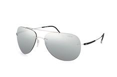 Silhouette 8667 00-6220, Aviator Sonnenbrillen, Silber