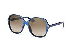 Gucci GG 0092S 005, Butterfly Sonnenbrillen, Blau