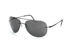 Silhouette 8667 50-6203, Aviator Sonnenbrillen, Schwarz