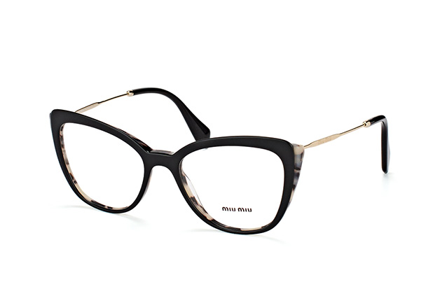 a5d45a8d5ecd ... Glasses; Miu Miu MU 02QV ROK-1O1. null perspective view ...