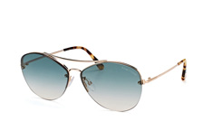 Tom Ford Margret 02 FT 0566/s 28W, Aviator Sonnenbrillen, Goldfarben