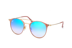 Ray-Ban RB 3546 9011/8B small, Aviator Sonnenbrillen, Beige