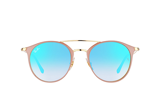 Ray-Ban RB 3546 9011/8B small vista en perspectiva