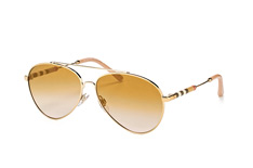 Burberry BE 3092Q 1145/6E, Aviator Sonnenbrillen, Goldfarben
