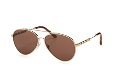 Burberry BE 3092Q 1145/73, Aviator Sonnenbrillen, Goldfarben