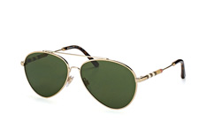 Burberry BE 3092Q 1145/71, Aviator Sonnenbrillen, Goldfarben