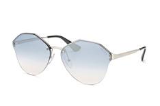 Prada PR 64Ts 1Bc-5R0, Butterfly Sonnenbrillen, Silber