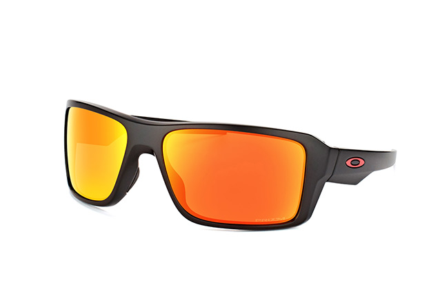 Oakley Double Edge Prizm Polarized Sonnenbrille Schwarz/Orange YxHMCI0oo