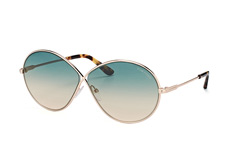 Tom Ford Rania 02 FT 0564/s 28P, Butterfly Sonnenbrillen, Goldfarben