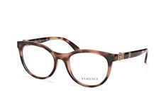 Versace VE 3247 5259, Butterfly Brillen, Havana