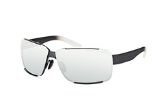 Porsche Design P 8580 A, Rectangle Sonnenbrillen, Schwarz