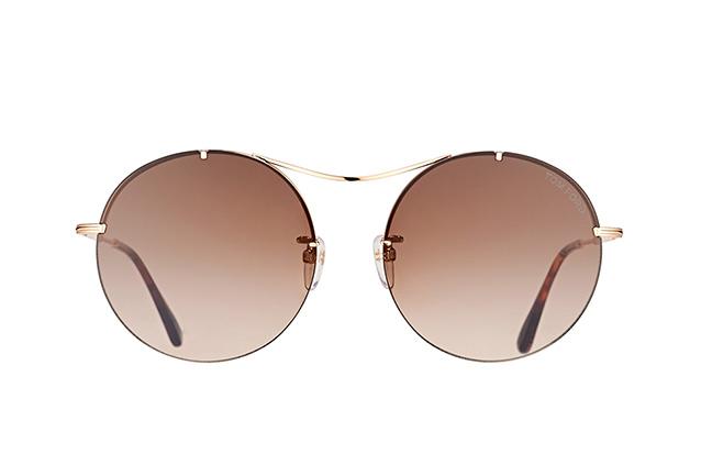 Tom Ford Damen Sonnenbrille » FT0565«, goldfarben, 28F - gold
