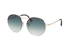 Tom Ford Veronique02 FT 0565/s 28B, Round Sonnenbrillen, Goldfarben
