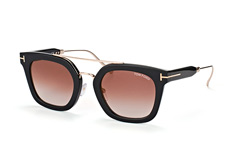 Tom Ford Alex-02 FT 541 01F, Aviator Sonnenbrillen, Schwarz