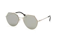 Fendi FF 0194/s 3Yg.0T, Aviator Sonnenbrillen, Silber