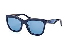 Swarovski SK 0125/s 90V, Square Sonnenbrillen, Blau