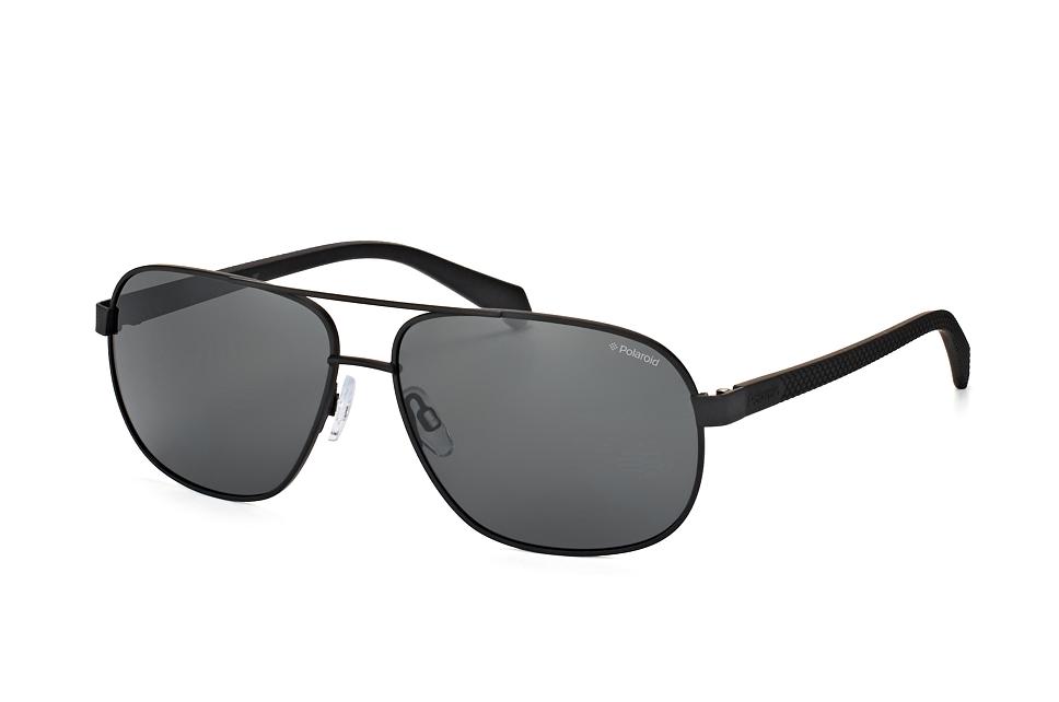 PLD 2059/s 003.m9, Aviator Sonnenbrillen, Schwarz