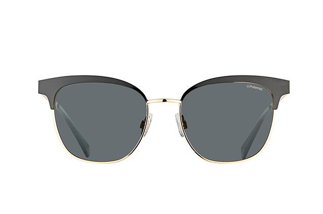 Polaroid Damen Sonnenbrille » PLD 4055/S«, schwarz, 2O5/M9 - schwarz/grau