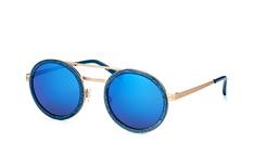 Humphreys 588117 70, Round Sonnenbrillen, Blau