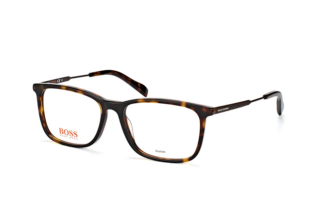 Boss Orange Herren Brille » BO 0307«, braun, 086 - havana