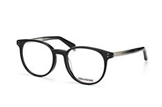 Zadig & Voltaire VZV 131 0700, Round Brillen, Schwarz