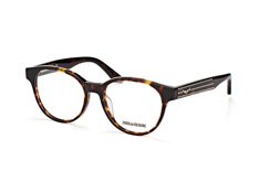 Zadig & Voltaire VZV 120S 0743, Round Brillen, Havana