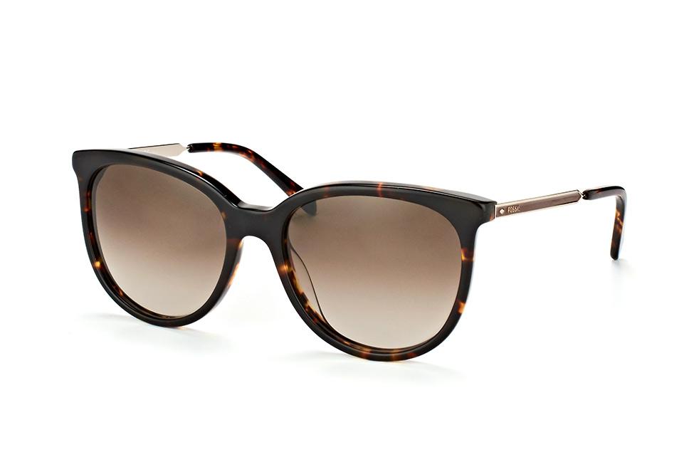 Fossil Damen Sonnenbrille » FOS 2060/S«, weiß, 10A/HA - weiß/braun