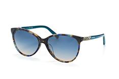 Swarovski SK 0123-H/s 55P, Butterfly Sonnenbrillen, Blau