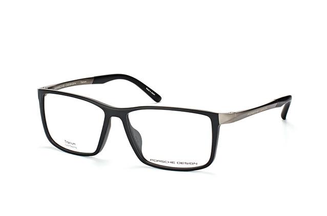 Porsche Herren Brillengestell Silber schwarz XBqnbQhiq