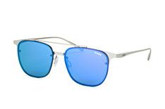Uvex lgl 38 5516, Aviator Sonnenbrillen, Silber