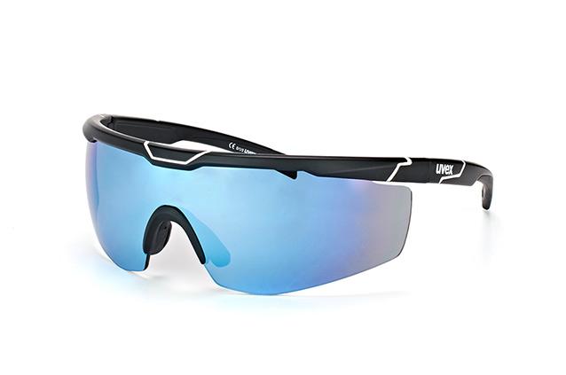 Uvex Brillen »sportstyle 117«, schwarz, Schwarz