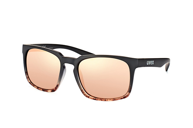 Uvex LGL 35 Sonnenbrille Schwarz/Grün 3escEeXq
