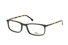Lacoste L 2808 315, Rectangle Brillen, Gruen