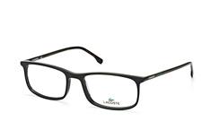 Lacoste L 2808 001, Rectangle Brillen, Schwarz