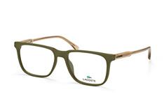 lacoste-l-2810-318-square-brillen-gruen