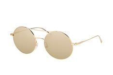 Calvin Klein CK 2156S 714, Round Sonnenbrillen, Goldfarben