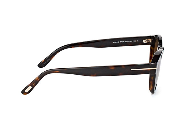Tom Ford Bryan-02 FT 0590/S 52J vista en perspectiva