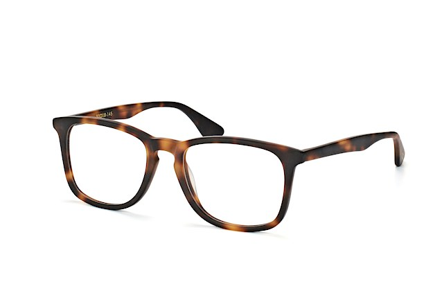 Mister Spex Collection Bruno Havana Perspektivenansicht